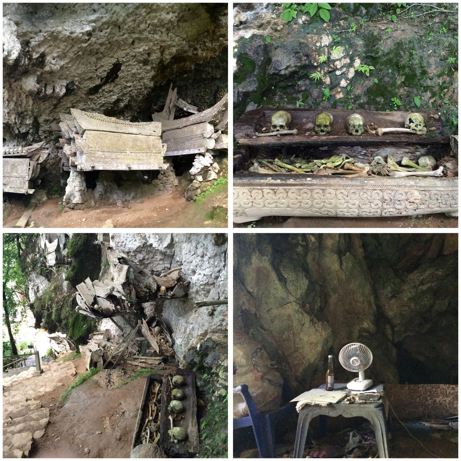 Situasi Goa Makam di Tana Toraja