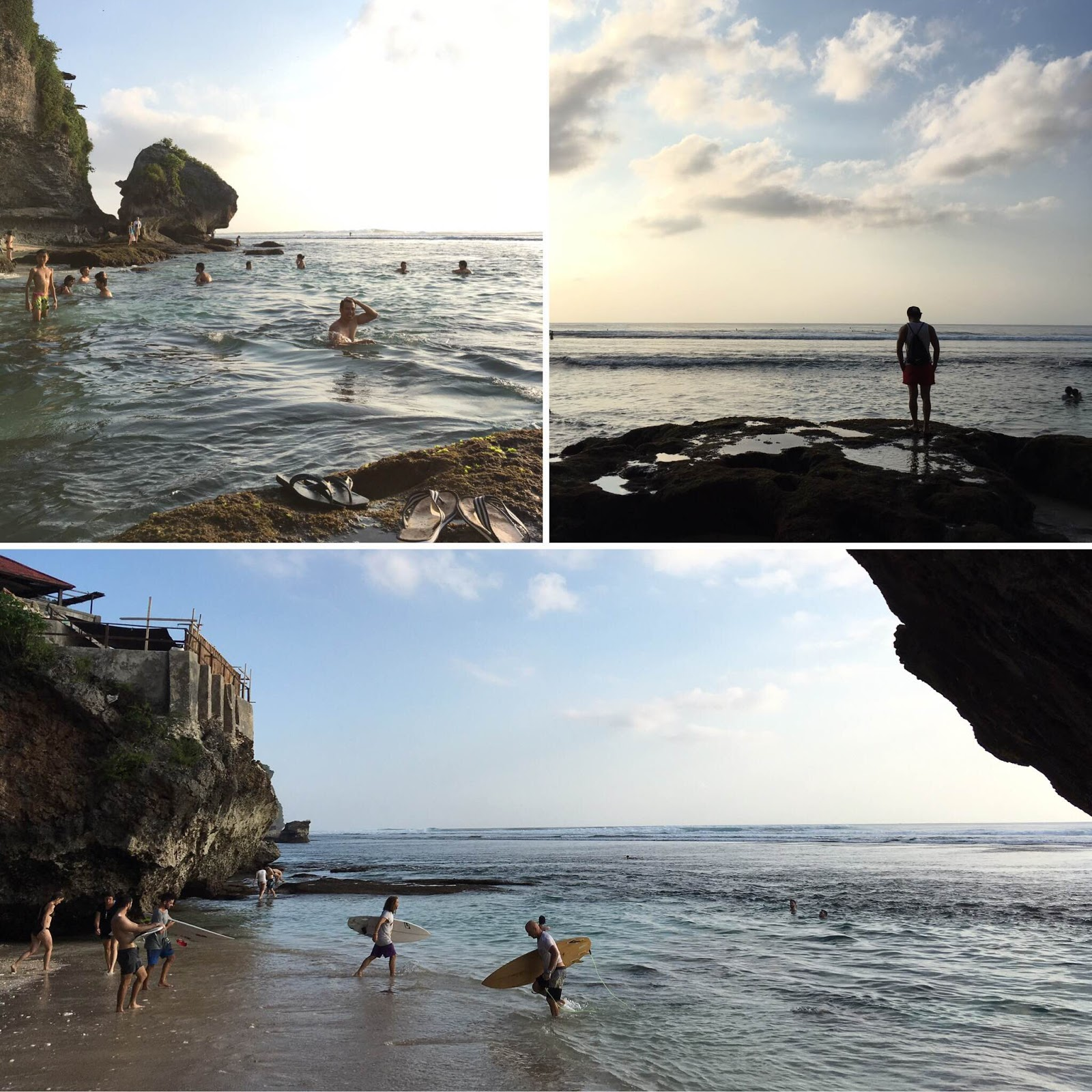 Suasana di Blue Point Beach Bali