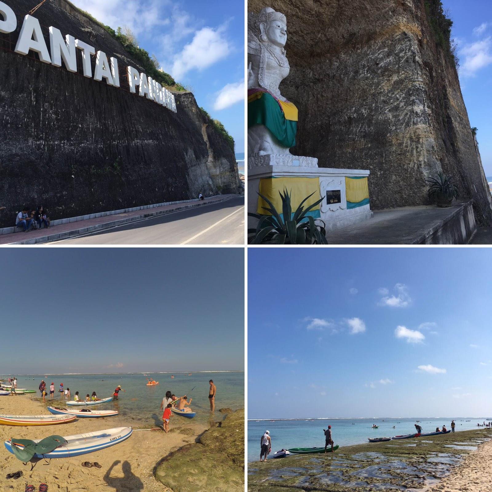 Suasana di Pantai Pandawa Bali