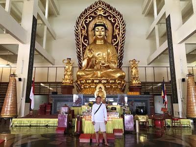 Patung Kuan Yi Terbesar Tanjung Pinang