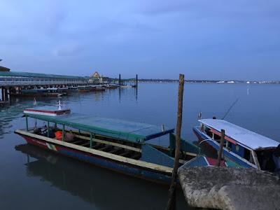 Perahu Menuju Pulau Penyengat Tanjung Pinang