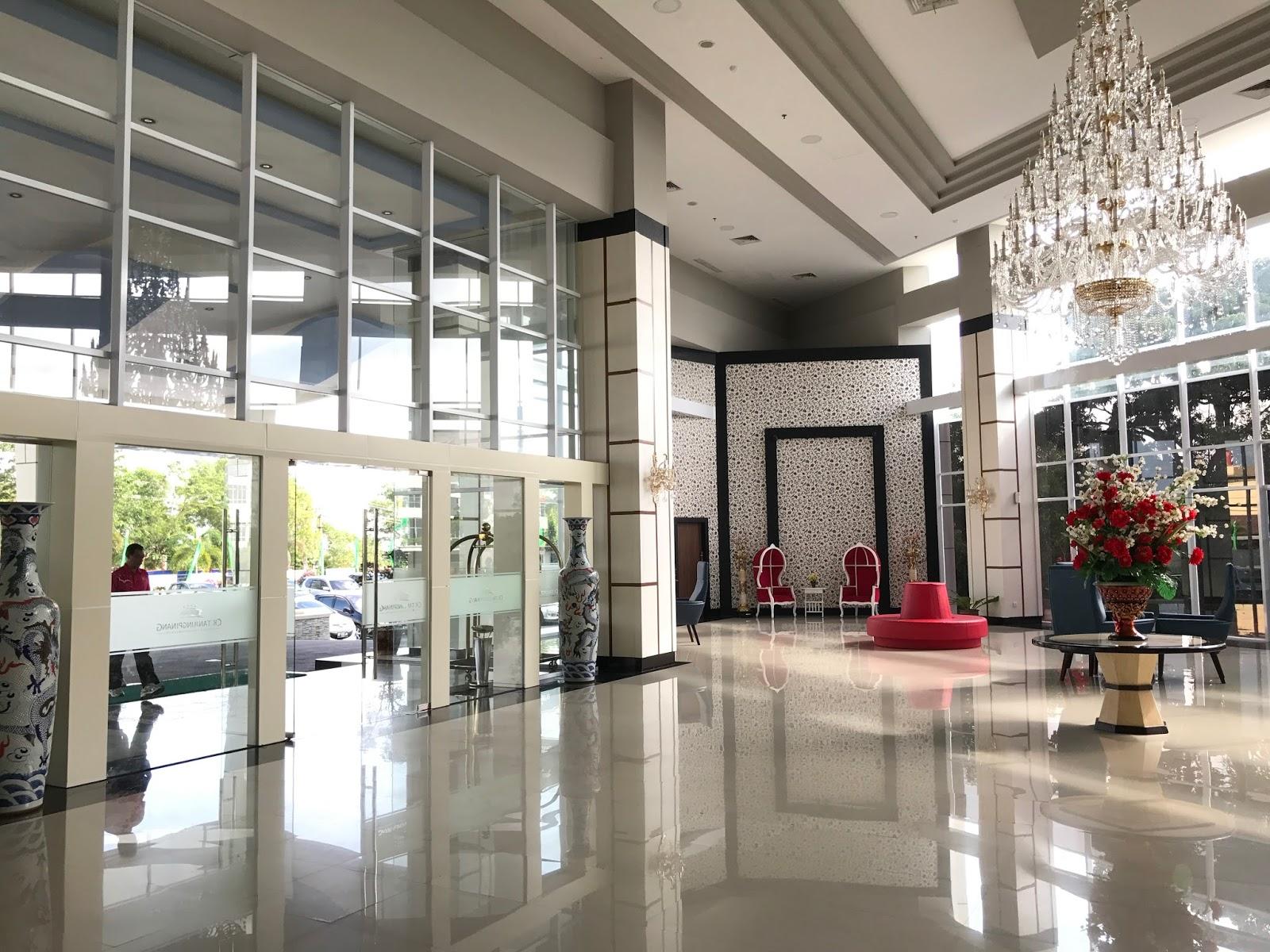 Lobi CK Hotel Tanjung Pinang