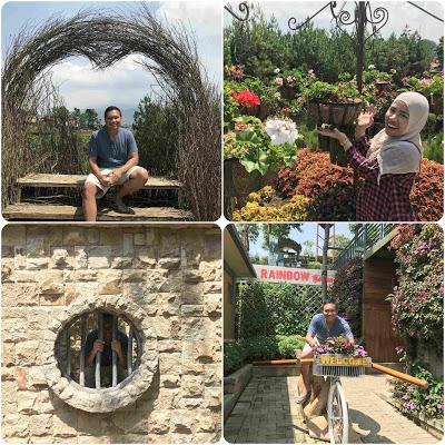 Spot-Spot Selfie di Rainbow Garden Bandung