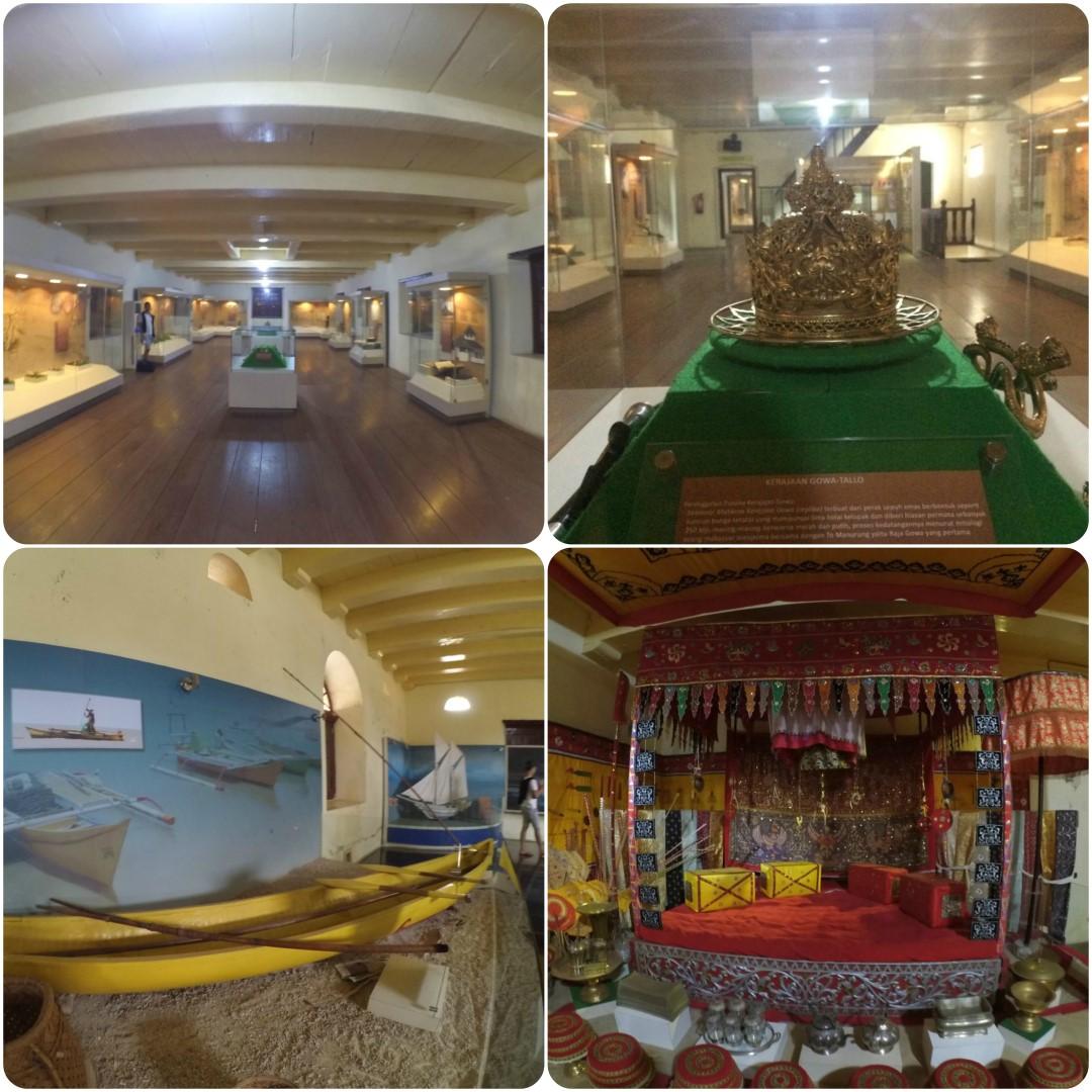 Koleksi Museum La Galigo di Fort Rotterdam Makassar