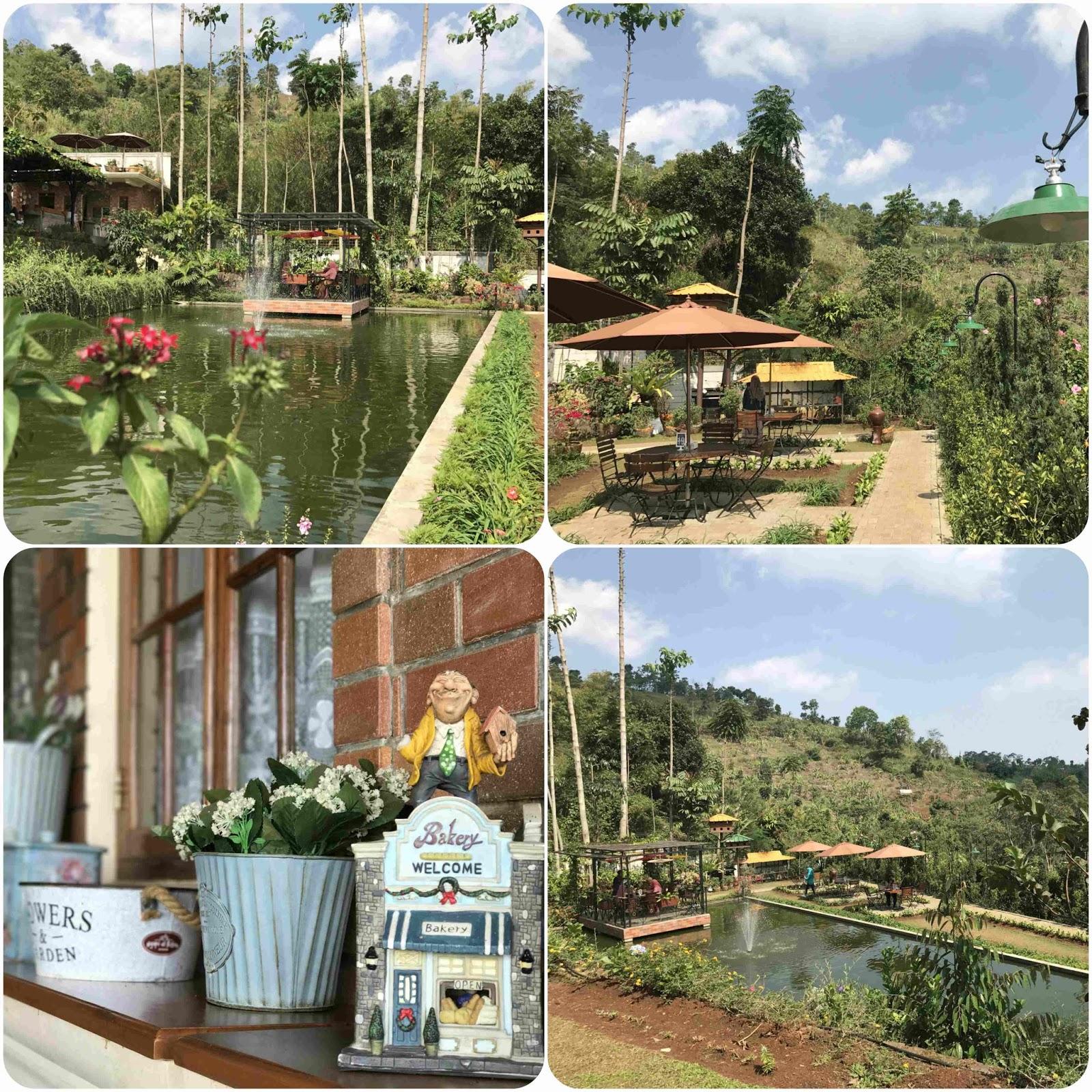 Pemandangan Alam di Ngopi di Kebon Bandung