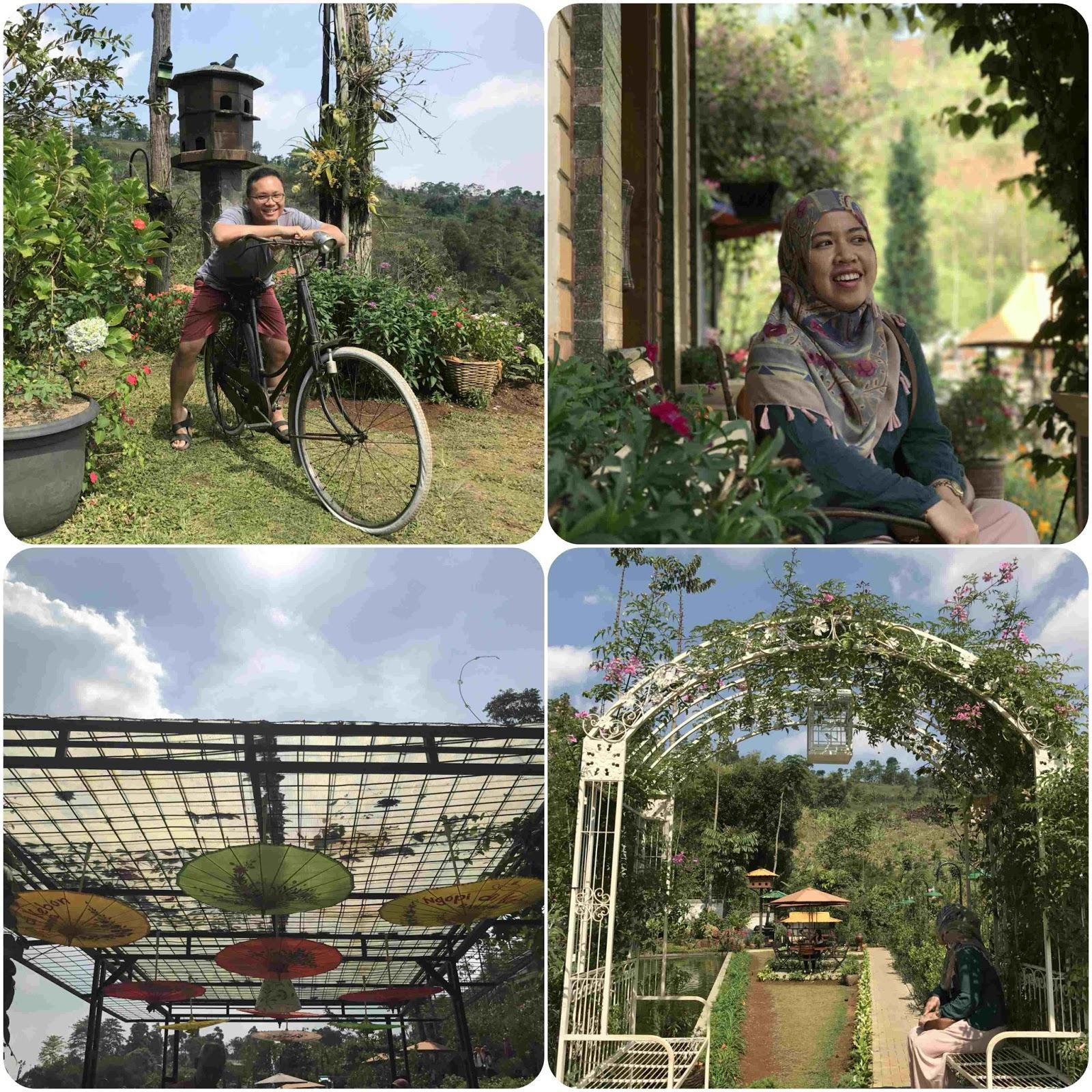 Spot Foto Instagrammable Ngopi di Kebon Bandung