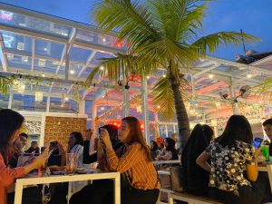 Suasana di Langit Seduh Coffee Jakarta