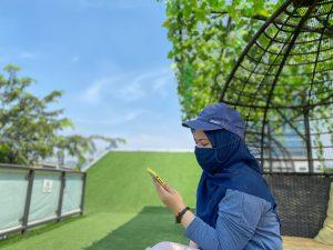 Suasana di Elarte Sport Cafe Jakarta