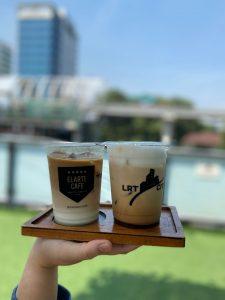 Menu kopi di Elarte Sport Cafe Jakarta
